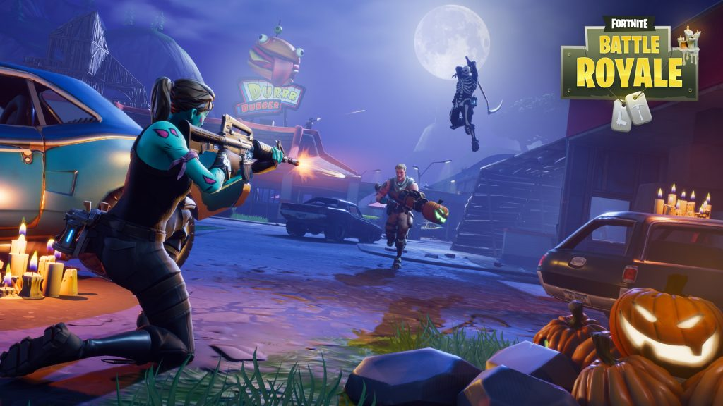 Fortnite Battle Royale Halloween 1024x576 - Teknique and Abstrakt in Save the World