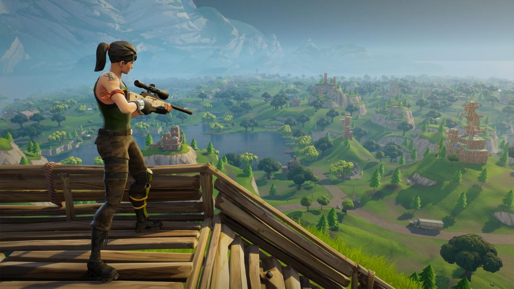 Fortnite battle royale fortnite sniper 1920x1080 f072fcef414cbe680e369a16a8d059d8a01c7636 1024x576 - Hell is other People