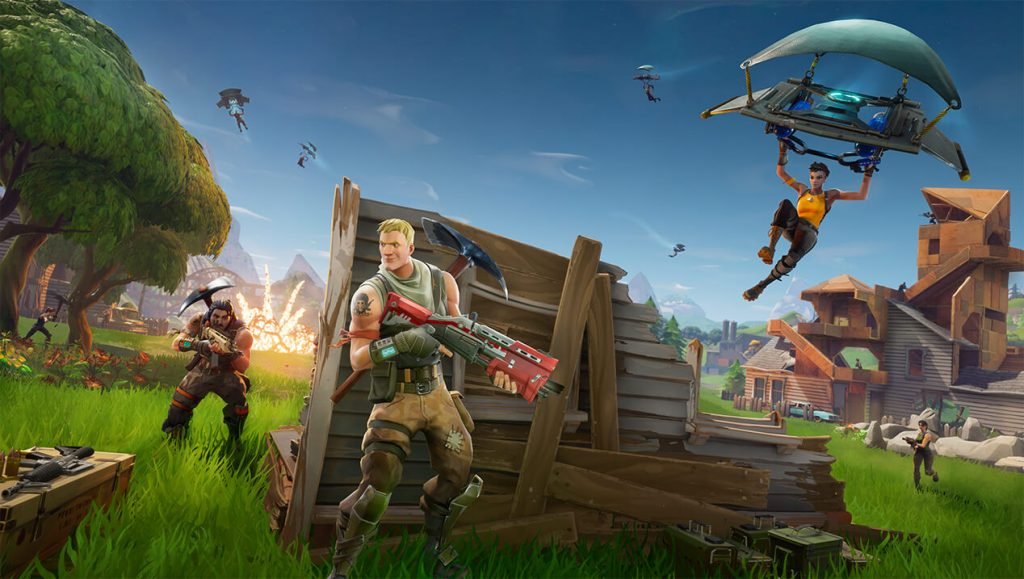 "Fortnite home fn battle royale 1268x717 cf9fa8a783c249aa8d6929126e29f5f190620357 1024x579 - To new players questioning V-Bucks ""Income"" with a STW purchase."