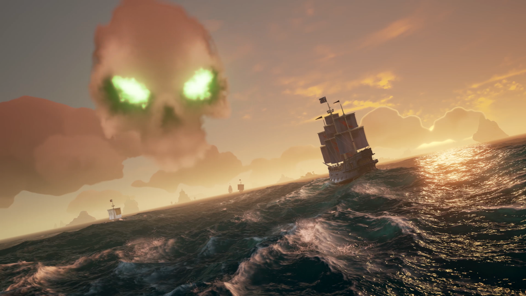 "the first 10 minutes of sea of thieves gameplay captured in gq9u 1024x576 - SOT Trek 2 ""the search for sails"""