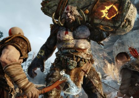 God of War 4 448x316 - New Kratos wouldn't make sense without good ol' annoying Kratos