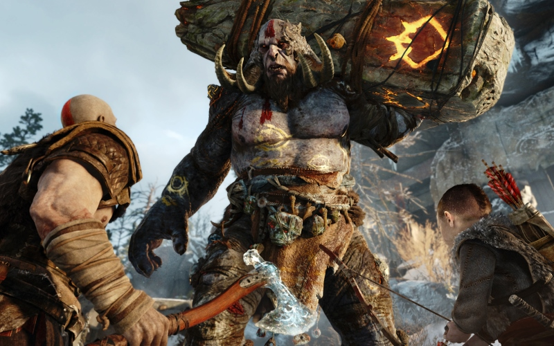 God of War 4 - New to franchise, rating my GOW marathon