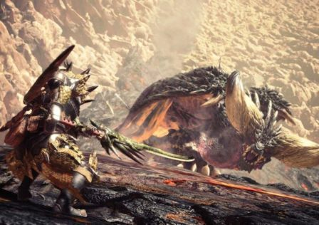 MonsterHunterWorld6 448x316 - MHW : Nergigante akward story placement and how it could have been better.