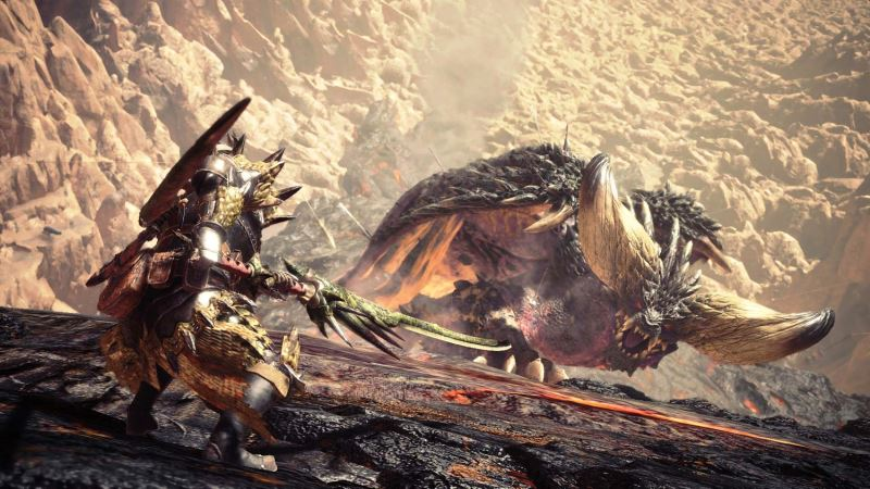 MonsterHunterWorld6 - Killed Nerg on my first try no carts! Please advise me on build.