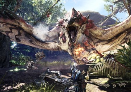 MonsterHunterWorld9 448x316 - Stygian Zinogre 2'11 Switch Axe Speedrun - Breakdown