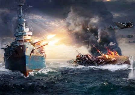 WorldOfWarships3 448x316 - To save the game from CVs we must... *check notes* buff CVs. (No seriously)