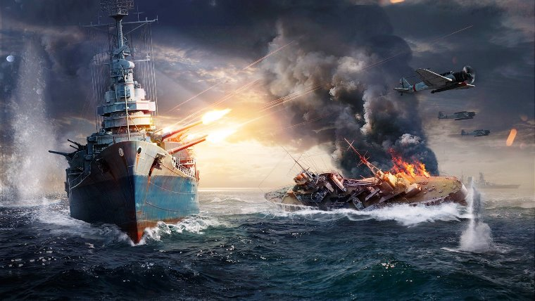 WorldOfWarships3 - REPOST for live server: How to do the sub mission 5 stars with some tips!