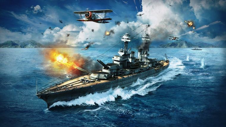WorldOfWarships7 - Manual Fire Control for Secondaries needs changing