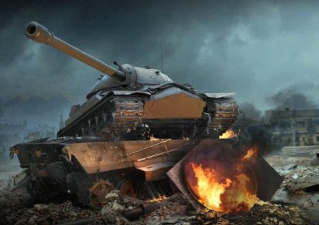 WorldofTanks8 448x316 - Blueberry three-mark review: SU-152
