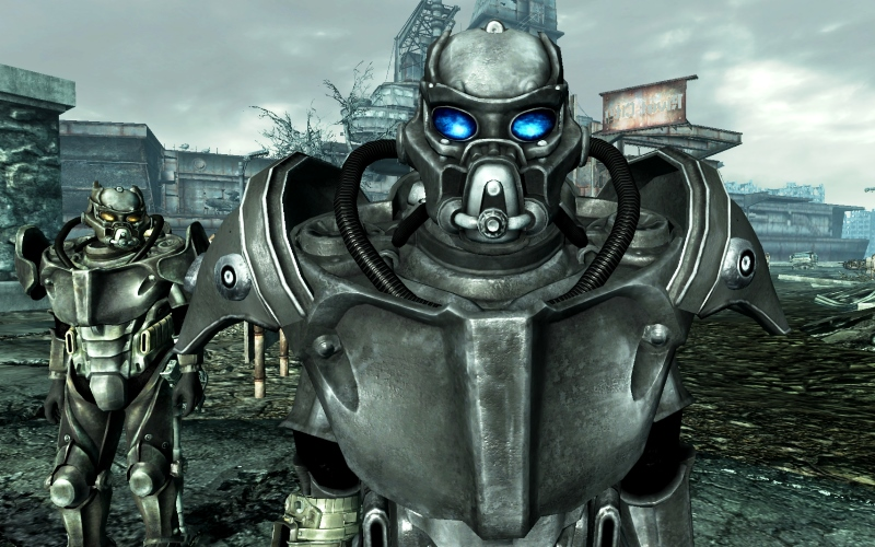fallout 3 - I'm always willing to help a newbie...unless they piss off the Whitespring robots anyway...and other players