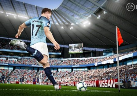FIFA19 7 448x316 - Be Better At Finishing (Guide) - Body Positions/ Angles