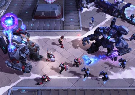 "HeroesoftheStorm 8 448x316 - Cannon towers shouldn't benefit from the ""Call for help"""