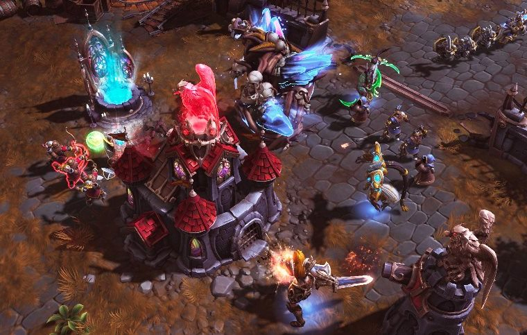 HeroesoftheStorm 9 - Anub'arak's Debilitation would be so much better if it were tied to Impale instead of Burrow Charge