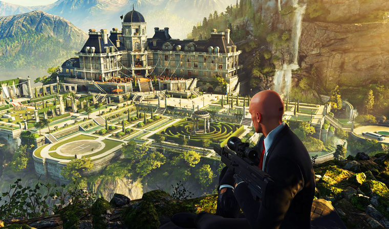 Hitman5 - Idea for a level: the University