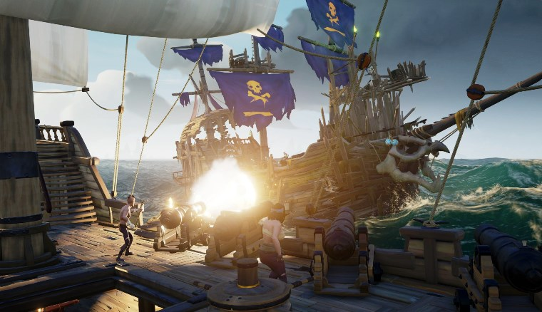 Sea of Thieves 2 - To the duo sloop that just bamboozled ours at the keep