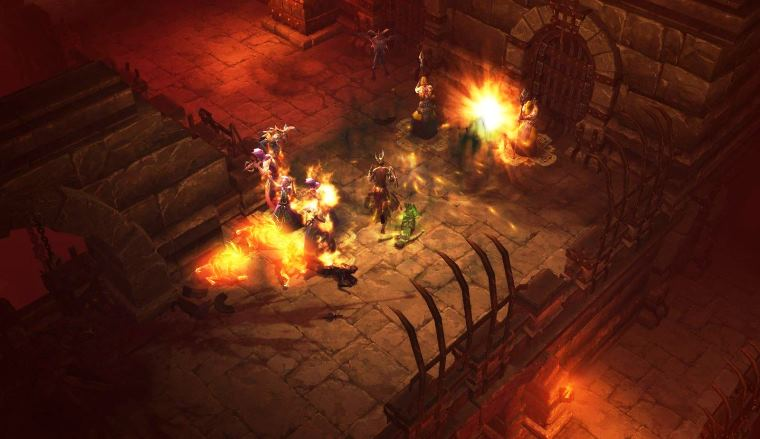 diablo14 - DH leveling, difference between Bow and Crossbow / Impale and Fan of Knives