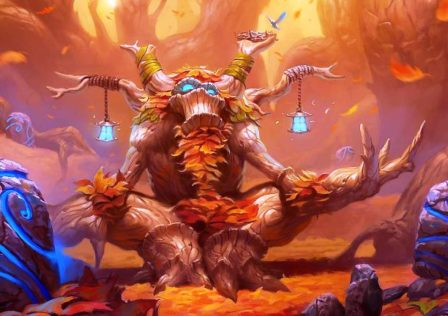 hearthstone 8 448x316 - Infinite N'zoth Shaman - a hidden gem in the sea of shaman evolve decks