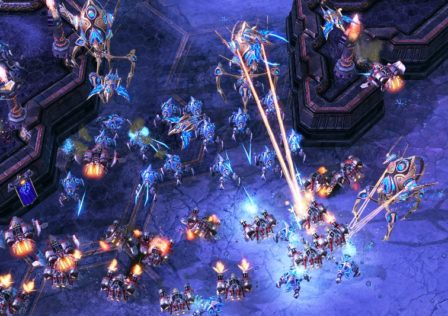 starcraft 6 448x316 - If one knows the exact build of an opponent, can they guarantee a win, or if not, at least an advantage? (Philosophical/balance question)