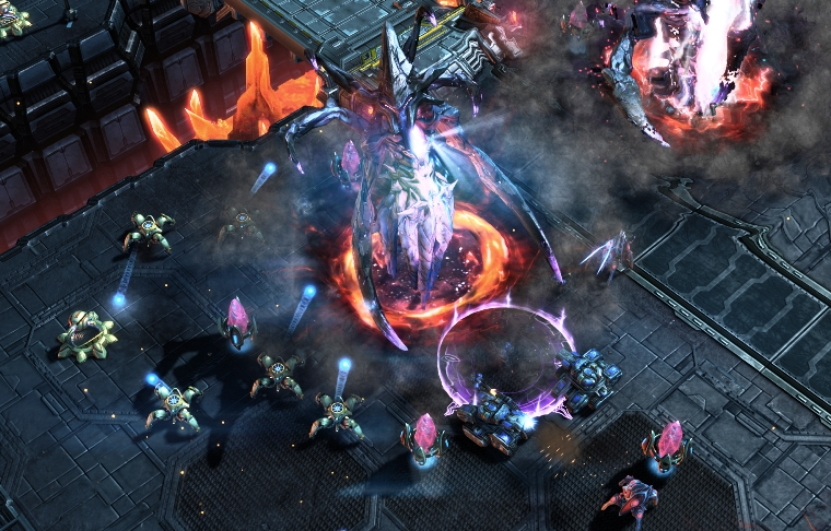 starcraft 7 - Instead of focusing on the lurkers, why not change the ultralisk?