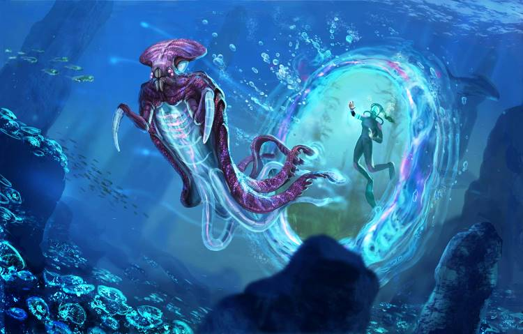 "Subnautica 8 - [No spoilers]? A story about ""fun"" with my new prawn suit."
