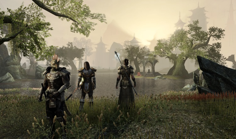 TheElderScrolls3 - My idea for a way Elder Scrolls could have a seamless singe-player/co-op integration and different companion system (I know Bethesda want to keep singe-player only, so this is merely discussing an idea and not saying they SHOULD do it)